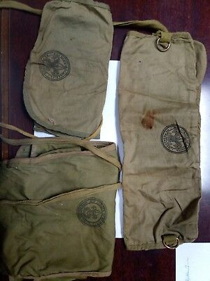 LOT Of 3 Vintage boy scouts of america Toiletries, Tool, Equipment Wraps