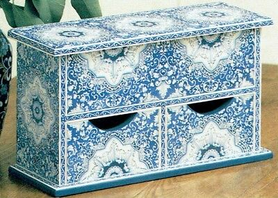 """Susan Stamilio vintage pattern from Decorative Painter Mag """"In Blue & White"""""""