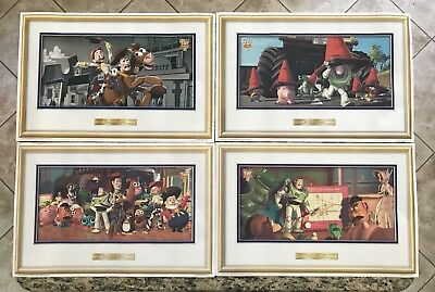 1999 Disney's Toy Story 2 McDonald's Promo Place Mats (placemats) - 4 different