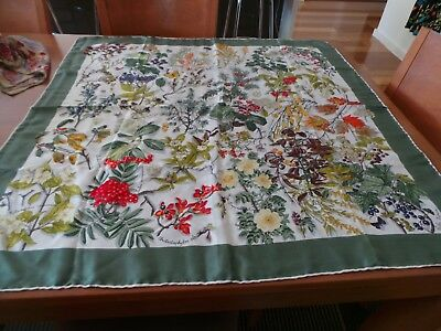 Vintage Mantero Collection N11 Silk Scarf Immaculate Condition