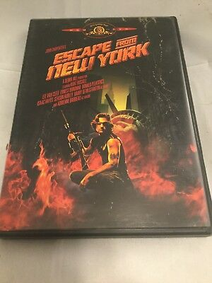Escape From New York DVD 1981