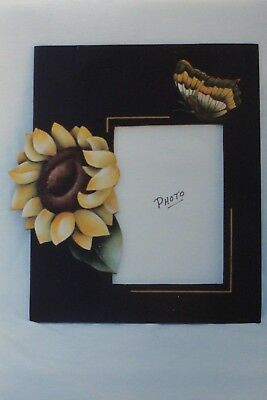 """Kathy Begala vintage tole painting pattern """"Sunflower Attraction"""""""
