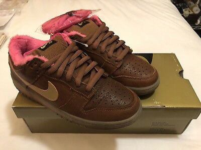 buy online 0a72e 34d10 2007 NIKE SB Dunk low SB Guitar Gibson Case Premium leather Rare Size 8 New