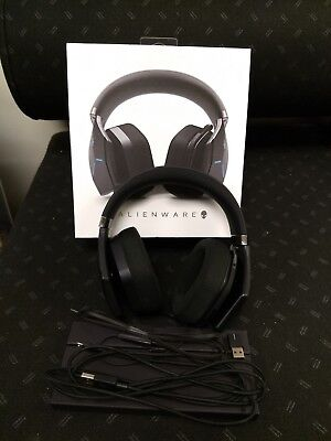 Alienware Wireless Gaming Headset (Black, AW988)