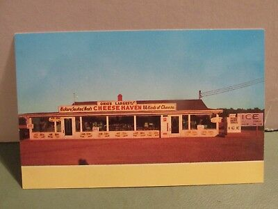 Ohio's Biggest Cheese Store, Route 163, Port Clinton - Vintage Postcard
