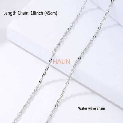 925 Sterling Silver 1.2MM Chain Necklace Wholesale Prices 18Inch Italian Jewelry