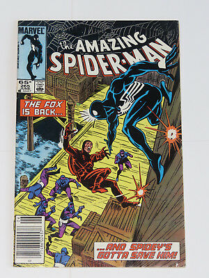 Amazing Spider-Man 265 - 265 (June 1985) - First SILVER SABLE