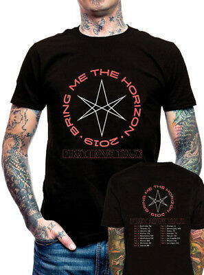 New Bring Me The Horizon First Love 2019 Music Clothing T Shirt S M L XL 2XL 3XL
