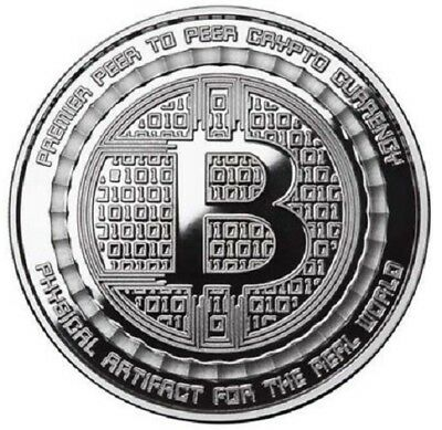 Bitcoin Guardian 1 oz .999 Fine Silver Commemorative Round - Only 3000 Minted!