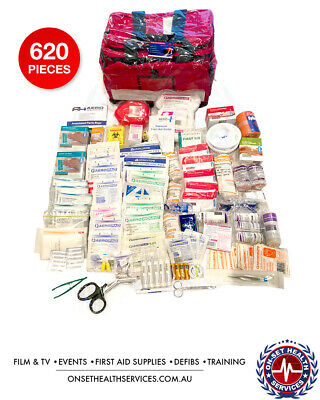 620pc industrial/Paramedic/Emergency/First Aid Kit/bags
