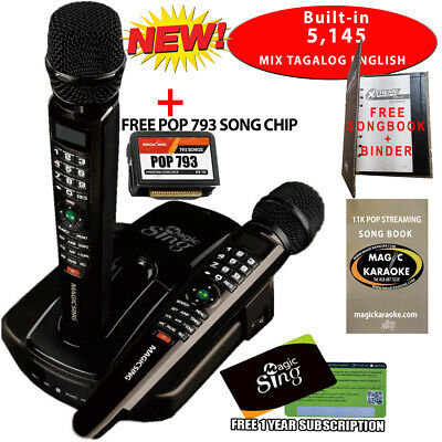 PANG PINOY ITO 2019 Magic sing ET23PRO Karaoke Mic WIFI STREAMING + SONGLIST
