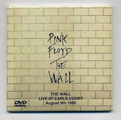PINK FLOYD The Wall Live At Earl Court - August 9th 1980 RARE 2CD +DVD [NEW]