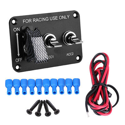 Universal 12V  Racing Car Circuit Modified Panel Knob Switches On/Off Switch