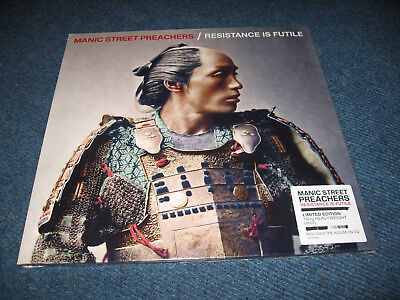 LP Manic Street Preachers - Resistance is Futile / Limited Edition + CD -NEU new