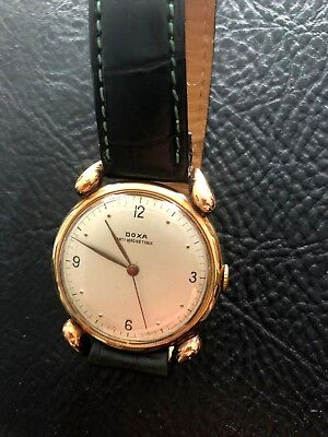 DOXA Uhr Anti-Magnetique Rotgold