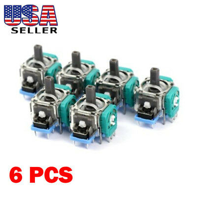 6x Analog Stick Joystick Replacement for XBox One PS4 Dualshock 4 Controller USA