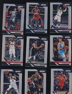 2018 19 Panini Prizm Basketball Silver Refractor Parallels Pick Your Favorite to