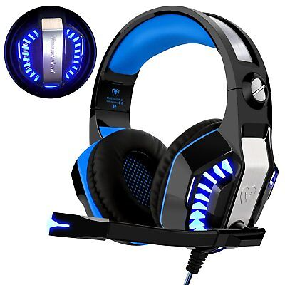 Casque Gaming PS4, Beexcellent Xbox One 3.5mm Micro Premium Anti-bruit Audio...