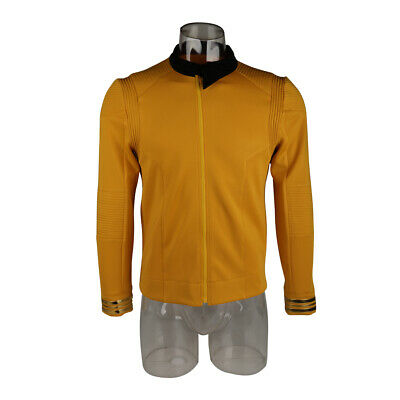 Star Trek Discovery Season 2 Starfleet Captain Pike Shirt Uniform Badge Costumes