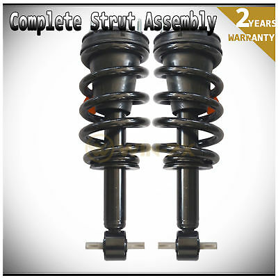 2pc New Front Left+Right Shock Strut Coil Spring Assembly Fit Chevy/GMC/Cadillac