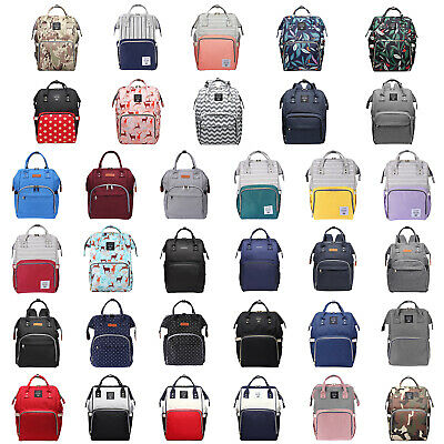 LEQUEEN Mummy Maternity Diaper Nappy Bag Large Capacity Baby Nursing Backpack