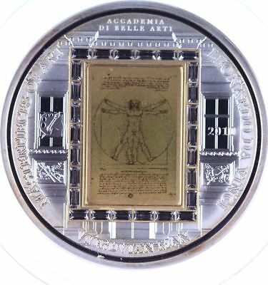 Cook Islands 20 Dollars 2010 Leonardo Da Vinci Nr. 993/999