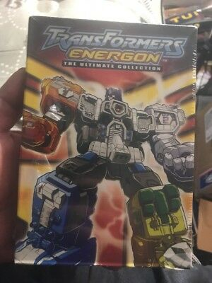 Transformers Energon - The Ultimate Collection (DVD, 2008,) -Brand New