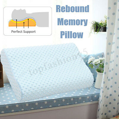 3 Sizes Memory Foam Bed Wedge Pillow Cushion Neck Back Support Washable Cover 1