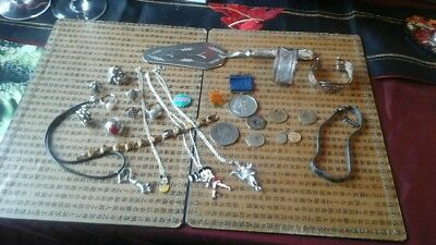 Job Lot Of Antique And Vintage Collectables. Includes Silver.
