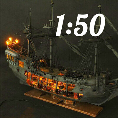 Classic Revell 1:50 The black Pearl Model Wooden Ship Boat Kits Set DIY Gift Toy
