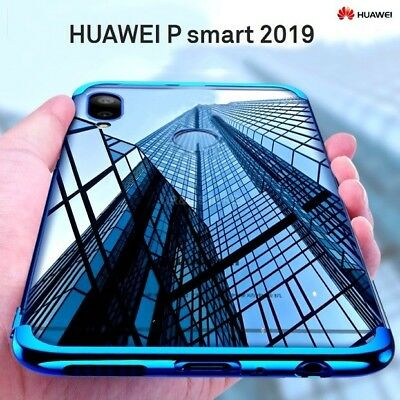COVER per Huawei P Smart 2019 CUSTODIA ORIGINALE ELECTROPLATING Slim TPU Case