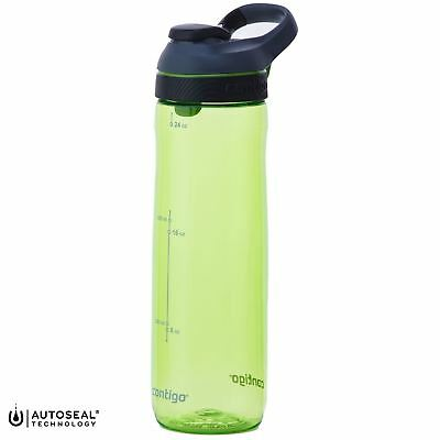 849cd32079 Contigo Cortland AutoSeal 720ml Water Bottle Outdoor Sports Spill-Proof -  Citron
