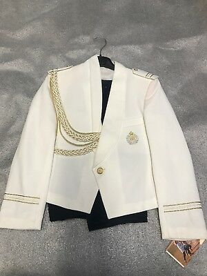 Vintage Michelle's Baby Uniform- Suit With Pants Size 12 Made In Spain. NEW (3)