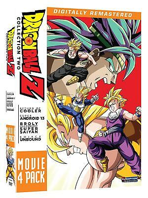 Dragon Ball Z Movie Pack Collection Two Sean Schemmel Unrated  Anime Comedy DVD