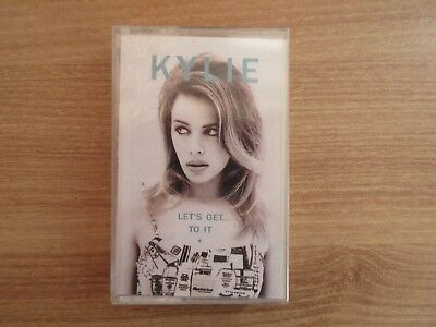 Kylie Minogue - Let's Get To It Rare Korea Sealed Cassette Tape 1992