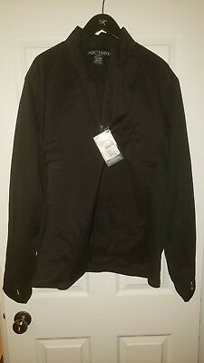 b80c3095e0 ARC'TERYX LEAF NAGA PULLOVER AR MEN'S SIZE XXL black color - $215.54 |  PicClick