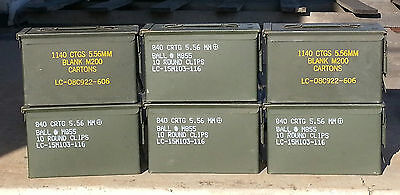1 us military surplus 50 cal m2a1 m2a2 ammo can box 50 tool