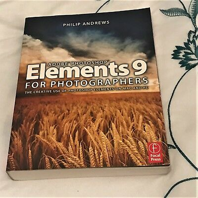 Adobe Photoshop Elements 9 for Photographers by Philip Andrews (Paperback, 2010)