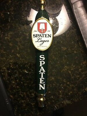 Spaten Lager Beer Tap Handle Tall FREE SHIPPING