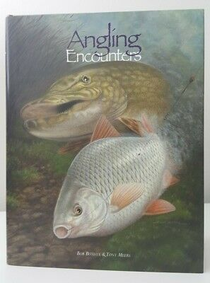 Signed x2 Angling Encounters Bob Buteux Tony Meers carp and coarse fishing book