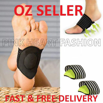 2019 ARCH Support Shoe Soft Insole Flat Feet PAIN RELIEF Plantar Fasciitis Foot