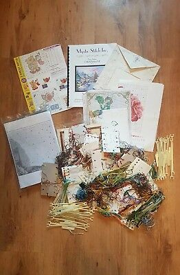 Job Lot Embroidery Patterns And Threads