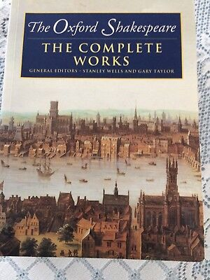 William Shakespeare The Complete Works Wells And Taylor