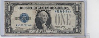 1928A $1 Silver Certificate & 1953A $2 Red Seal United States Note lot of 1 each