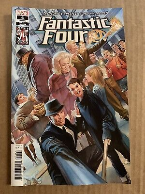 Fantastic Four #6 Alex Ross Anniversary Variant 1St Print Marvel Comics (2019)