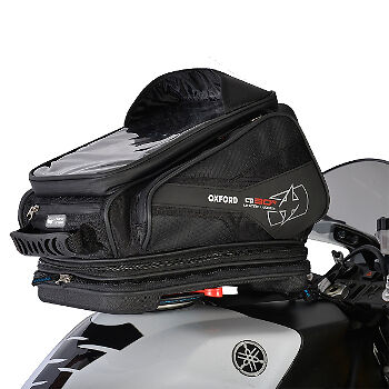 Oxford Q30R Quick Release Motorcycle Motorbike Luggage Tank Bag Black