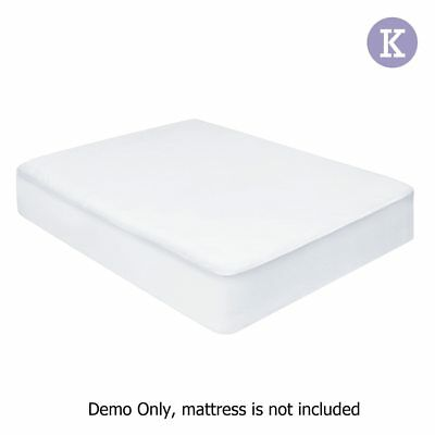 Giselle Bedding King Size Non Woven Mattress Protector