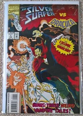 Marvel The Silver Surfer vs Dracula 1 Special