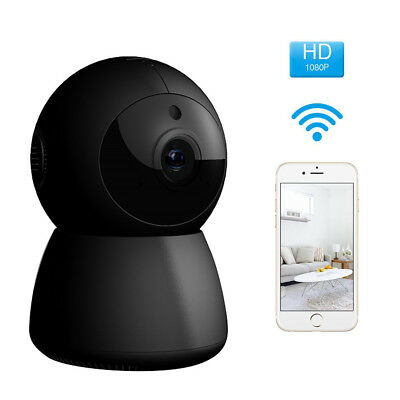 FLOUREON 1080P Wireless Security IP Panoramic Camera Two-Way Audio For Baby FR