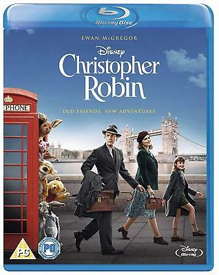 Christopher Robin [Blu-ray, 2018] - BRAND NEW & SEALED - WITH SLEEVE!